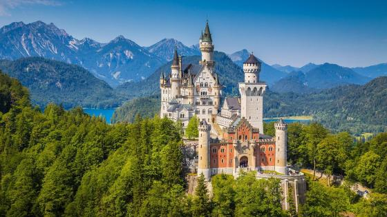 Neuschwanstein Castle wallpaper
