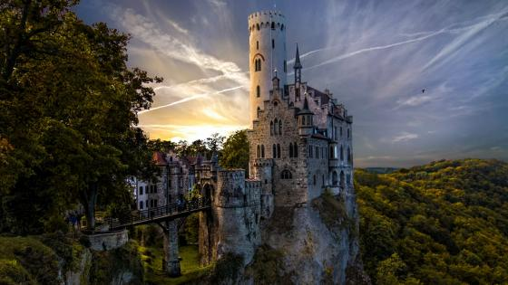 Lichtenstein Castle -  Germany wallpaper