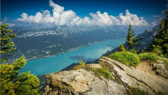 Lake Brienz - Switzerland wallpaper