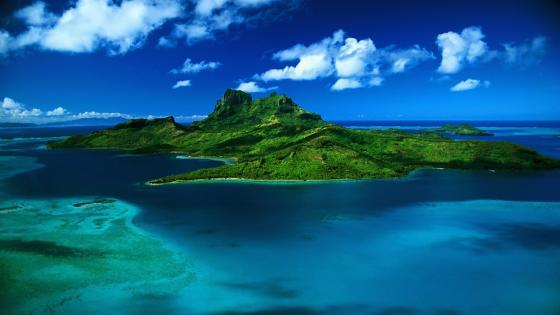 Mauritius Island on the Indian Ocean wallpaper