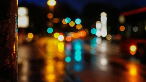 Bokeh traffic lights - Bokeh Photography wallpaper