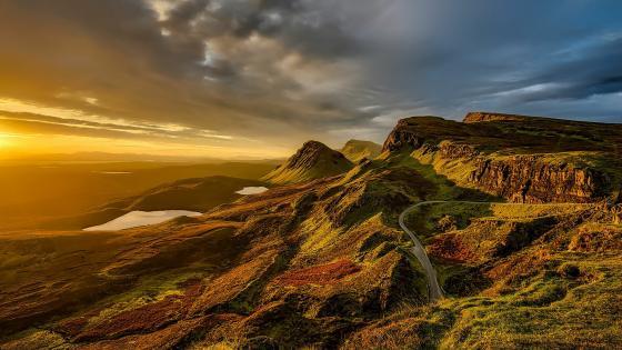 Isle of Skye - Scottish Highlands landscape wallpaper