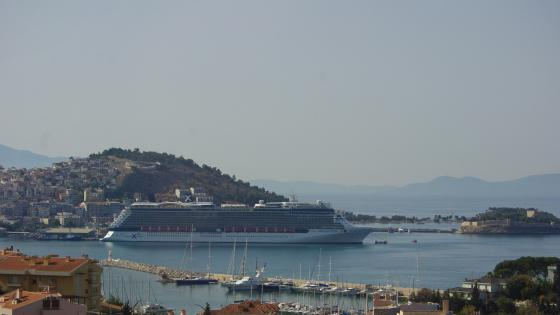 Kusadasi Harbor wallpaper