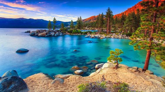 Lake Tahoe - Nevada State Park wallpaper