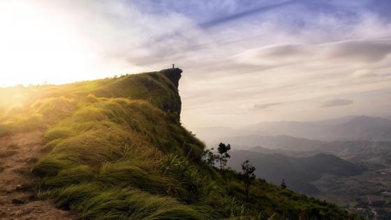 Mountain of Phu Chi Fa  wallpaper