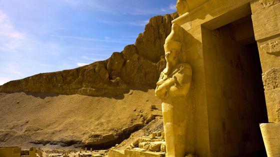 Mortuary Temple of Hatshepsut wallpaper