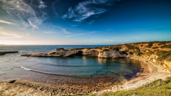 Mediterranean Sea of Sardinia wallpaper