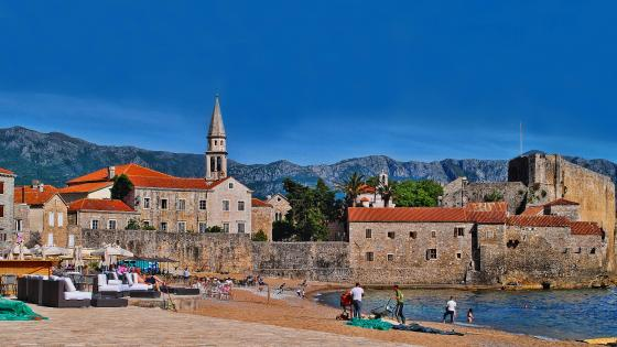 Budva the Old Town wallpaper