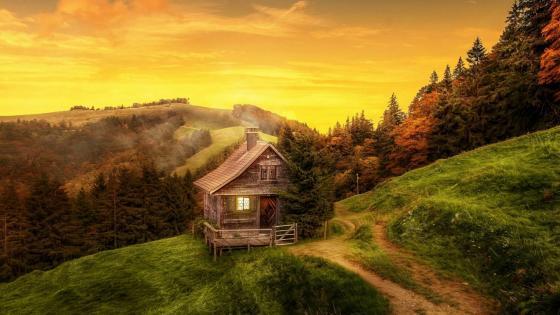 Autumn is Switzerland wallpaper