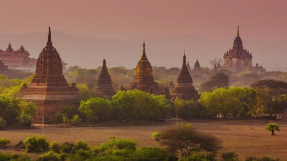 Temples of Bagan - Myanmar (Burma) wallpaper