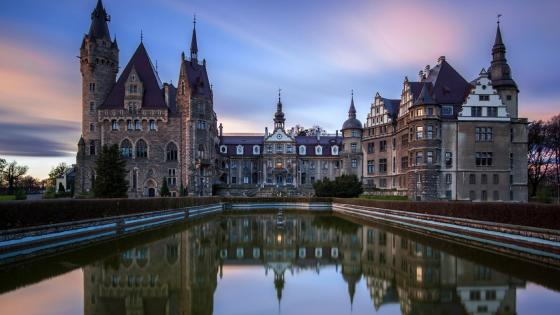 Moszna Castle  - Poland  wallpaper
