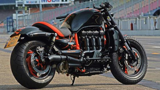 Triumph Rocket III wallpaper