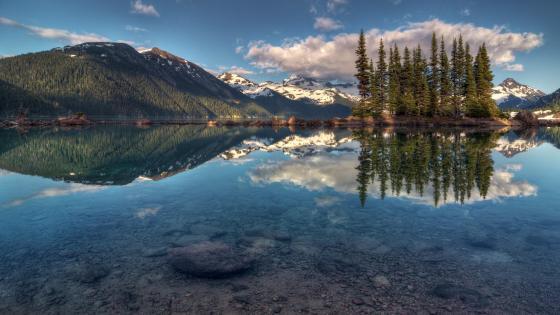 Garibaldi Lake - Garibaldi Provincial Park, British Columbia, Canada wallpaper