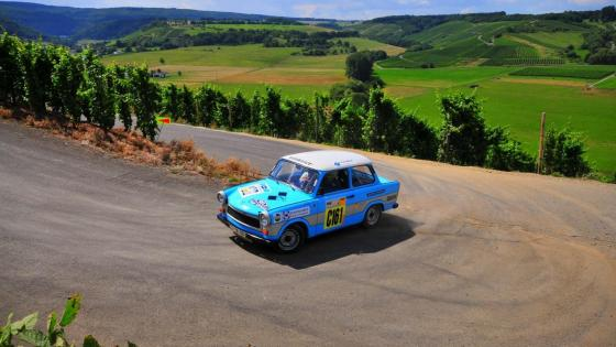 Trabant race car wallpaper