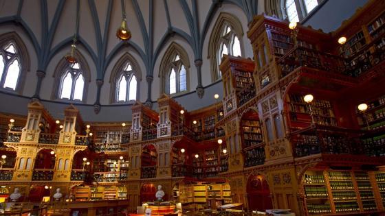 Library of Parliament (Bibliothèque du Parlement) - Ottawa, Ontario, Canada wallpaper