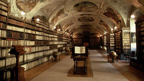 Strahov Monastery Library - Prague, Czech Republic wallpaper