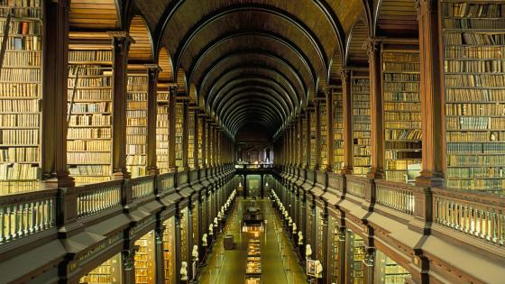 Trinity College Library - Dublin, Ireland wallpaper