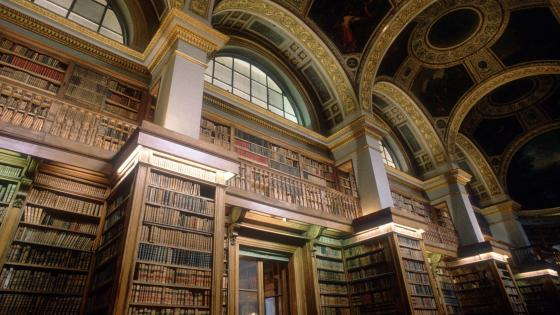 Bourbon Palace Library - Paris, France wallpaper