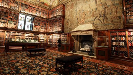 Morgan Library & Museum -  New York City wallpaper