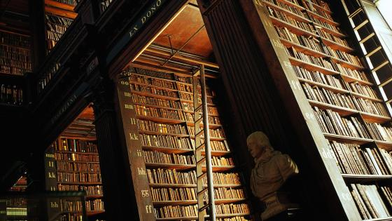 Trinity College Library wallpaper