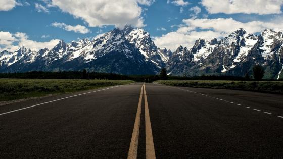 The Teton Range view - Grand Teton National Park wallpaper