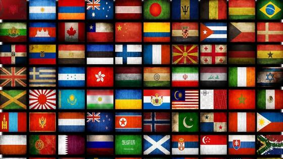Country flags wallpaper