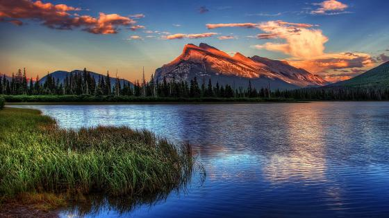 Vermillion Lakes, Banff National Park wallpaper