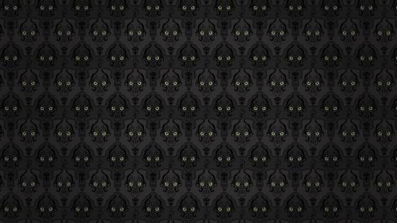 Skull pattern - Abstract art wallpaper