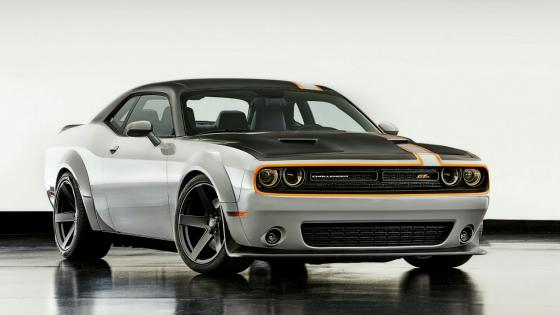 Dodge Challenger GT AWD concept classic muscle car wallpaper