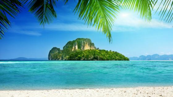 Beautiful view form Tup Island, Thailand wallpaper