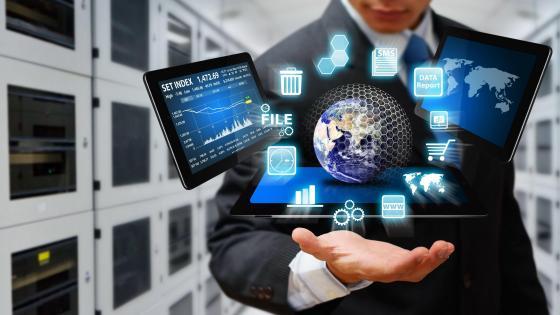 Computer information technology wallpaper