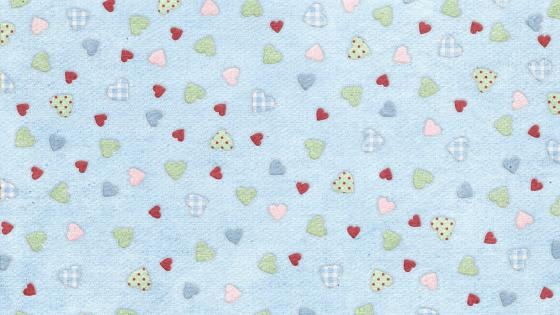 Little sweet hearts  wallpaper