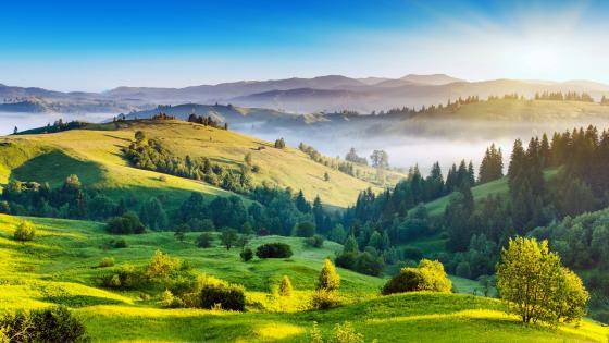 Ukrainian Carpathians wallpaper