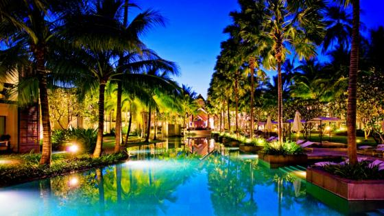The stunning Twinpalms in  Phuket, Thailand wallpaper
