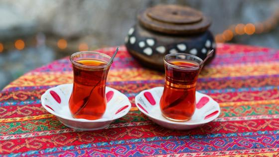 Black Turkish tea wallpaper