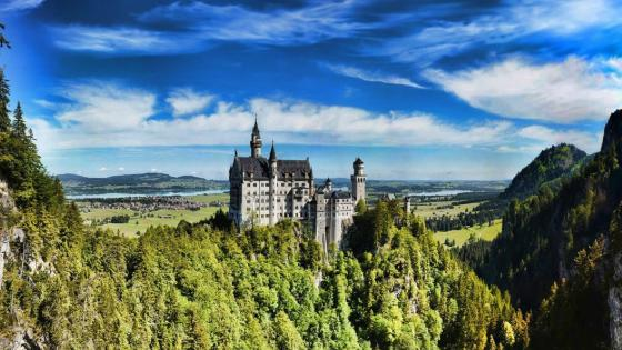 Neuschwanstein Castle - Germany wallpaper