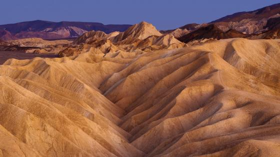 Zabriskie Point - Death Valley National Park wallpaper