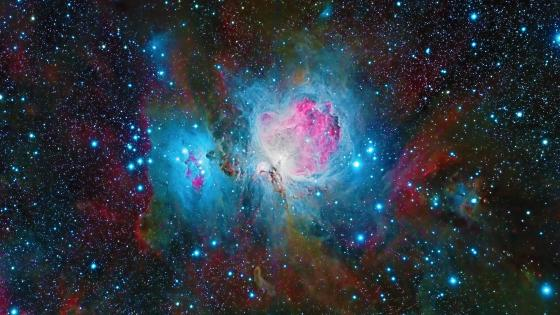 The beautiful Orion Nebula  wallpaper