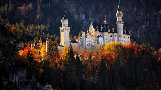 Neuschwanstein Castle (Germany) wallpaper