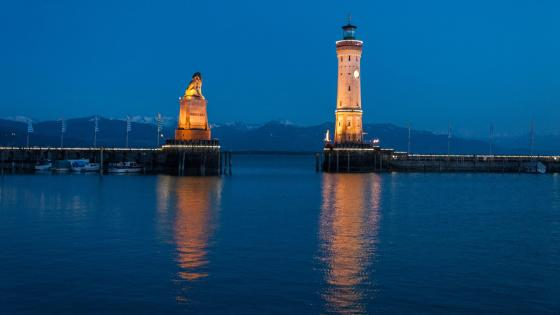 Lindau Lighthouse - Germany wallpaper