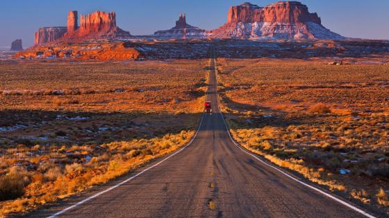 Road to Monument Valley wallpaper