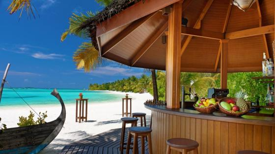 Vacation in Furanafushi Island, Maldives wallpaper