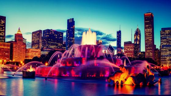 Buckingham Fountain - Chicago wallpaper