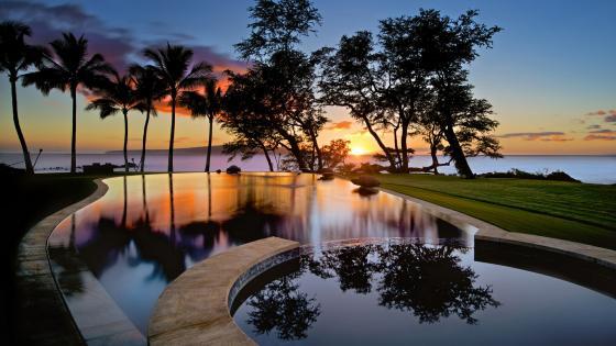 Resort in Maui, Hawaii wallpaper