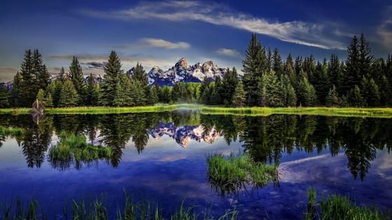 Teton Range view - Grand Teton National Park wallpaper