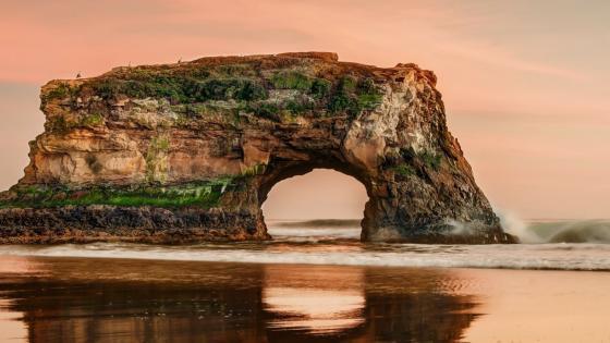Natural Bridges State Beach - Santa Cruz, California wallpaper