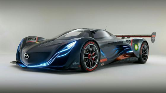 Mazda Furai concept car wallpaper