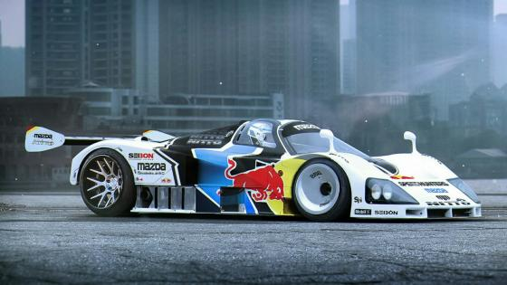 Mazda 787B prototype racing car wallpaper