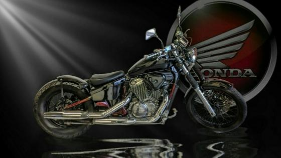Honda chopper wallpaper