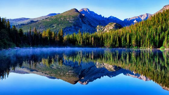 Bear Lake - Rocky Mountain National Park, Colorado wallpaper